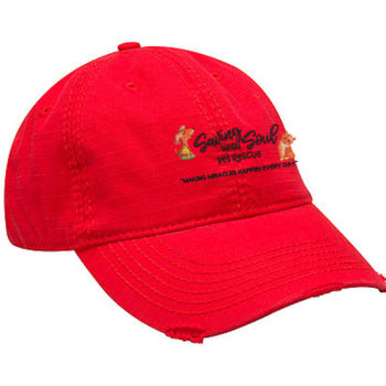 SWS Embroidered Distressed Cap Thumbnail
